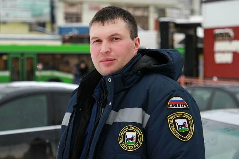 Михаил Дмитриев, спасатель