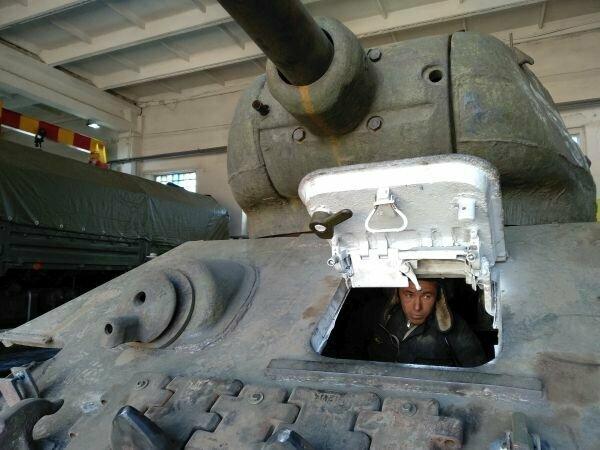 """""""Боевая подруга"""": восстановленный Т-34 выдержал испытания на полигоне"""
