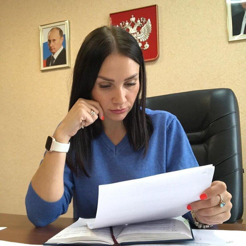 Первый вице-мэр Южно-Курильска Елизавета Андреева