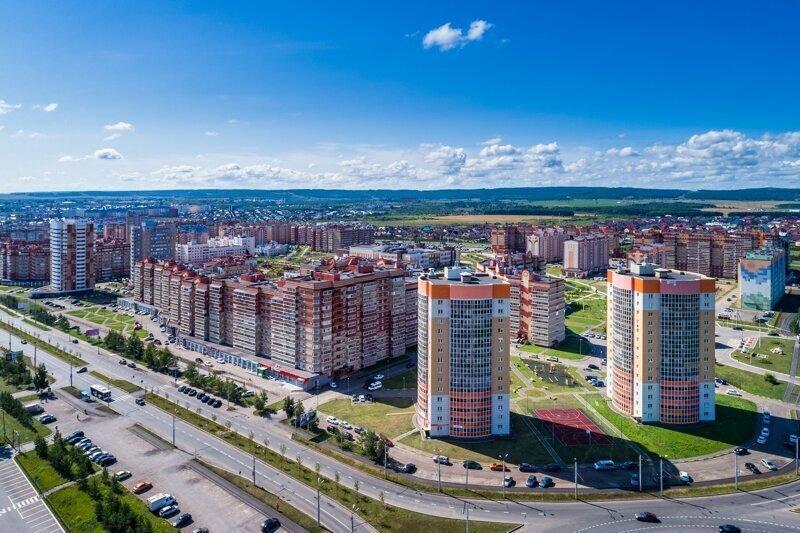 Красота России: город Альметьевск