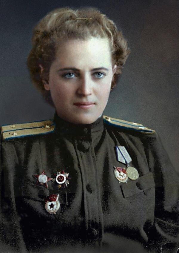 Жигуленко Андреевна - Герой Советского Союза