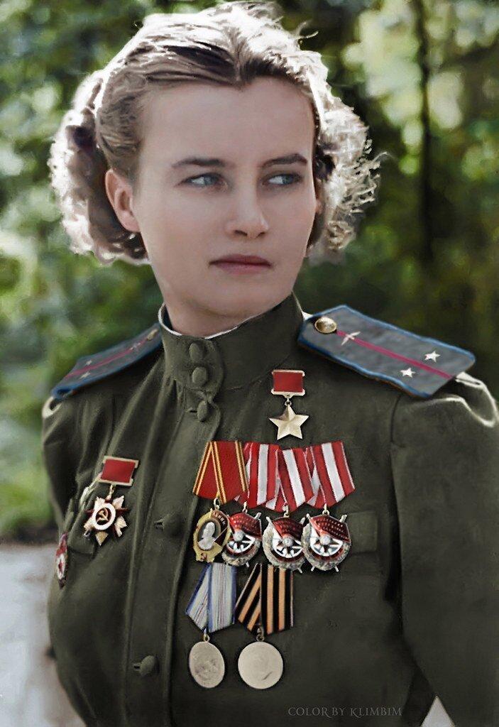 Наталья Фёдоровна Меклин -  Герой Советского Союза