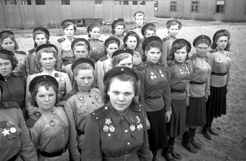 Снайперы 3-й ударной армии 1-го Белорусского фронта