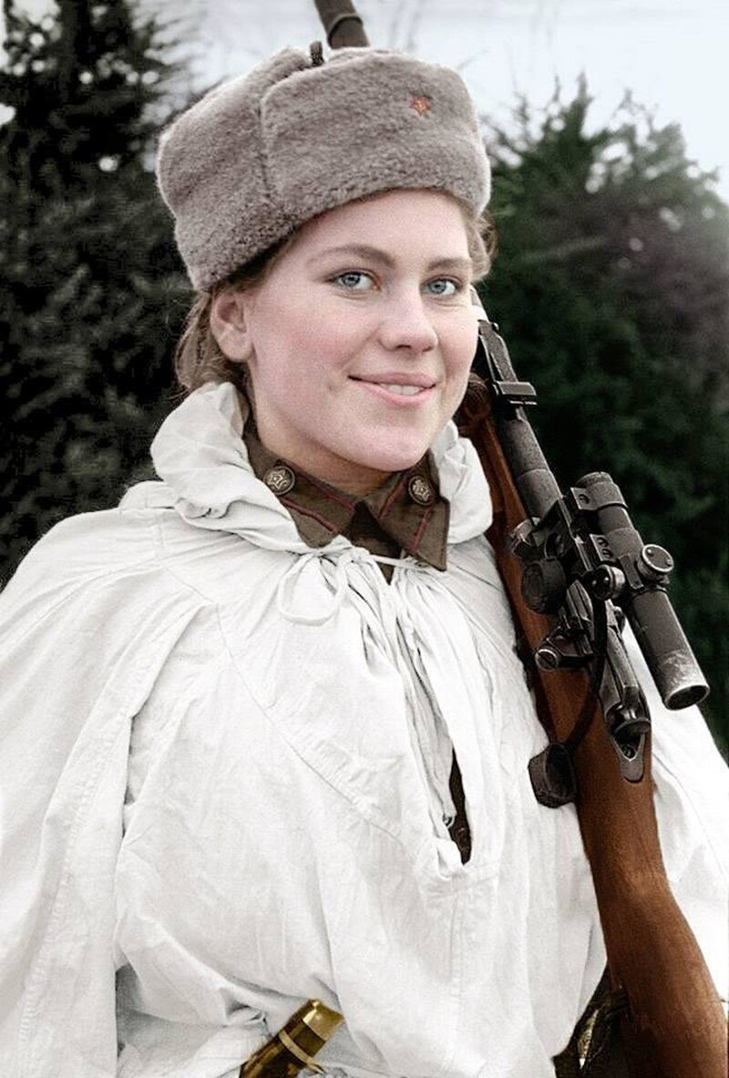 Роза Шанина - снайпер