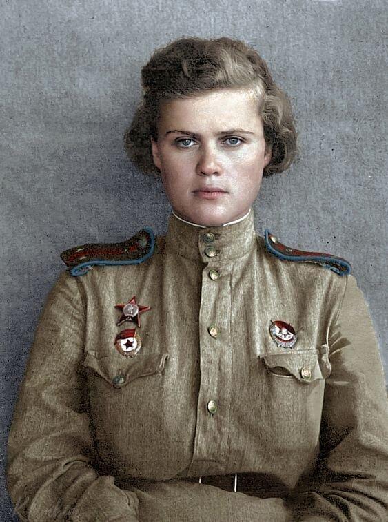 Герой Советского Союза Евгения Руднева