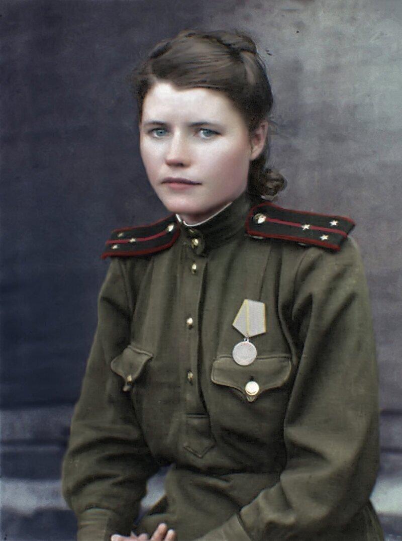 Военный врач Ангелина Кожаева