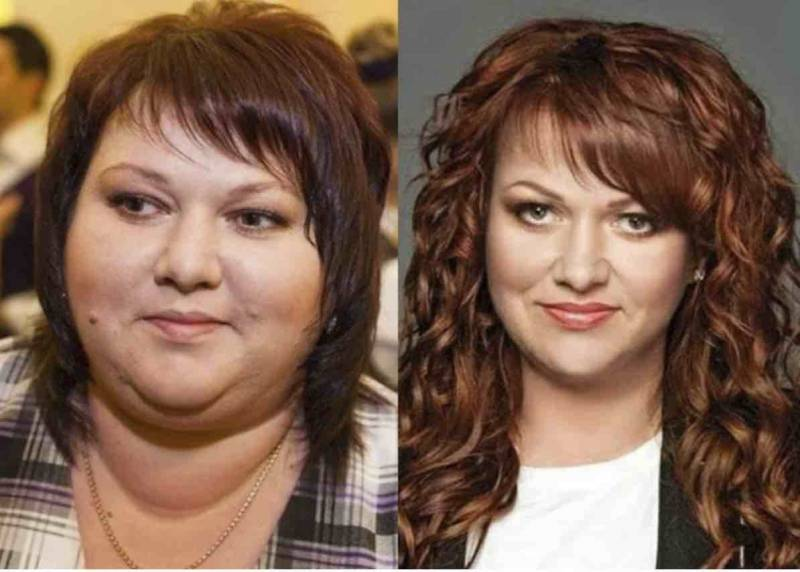 Ольга картункова фото до и после похудения