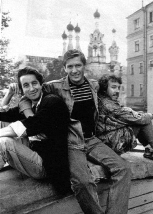 Ярмольник, Абдулов и Макаревич