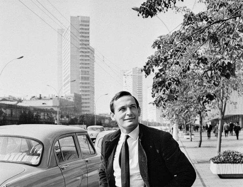 Василий Лановой на Новом Арбате. 18 июля 1972 года