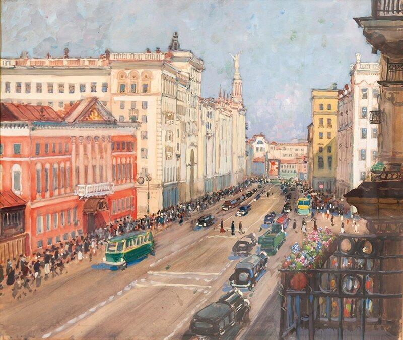 Ностальгия: советская Москва, запечатленная на картинах