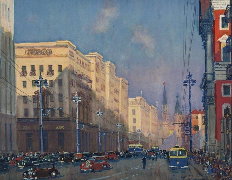 «Москва, ул. Горького»