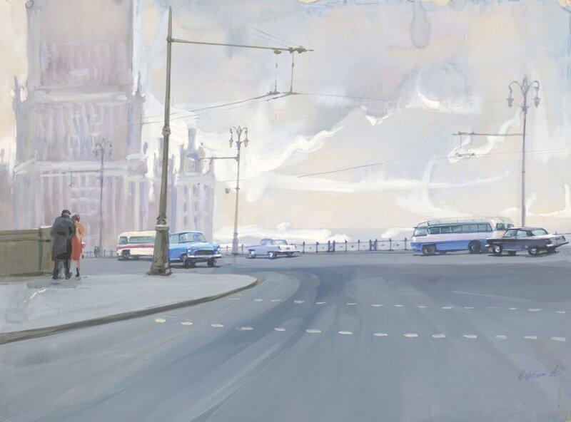 «Пасмурная Москва»