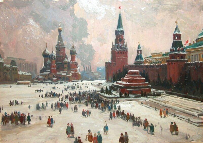 «Москва. Красная Площадь»