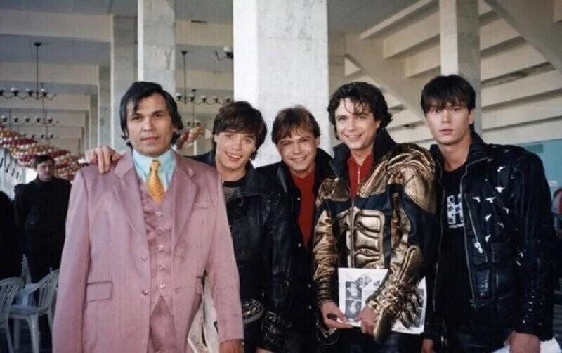 """Бари Алибасов и группа """"НА-НА"""" , 1997 год"""