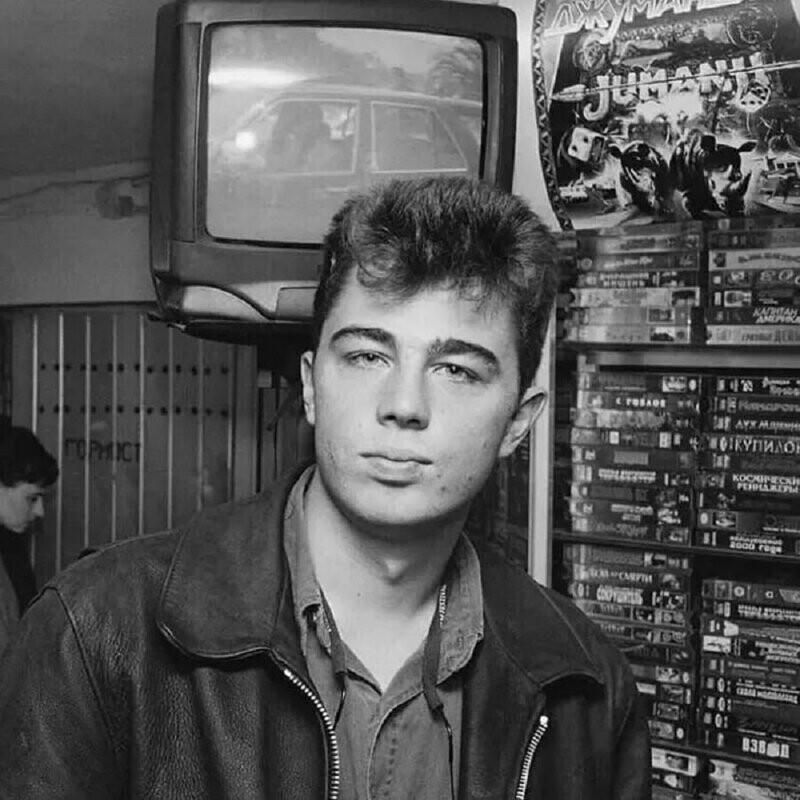 Сергей Бодров-младший, 90-е, фотограф Игорь Мухин