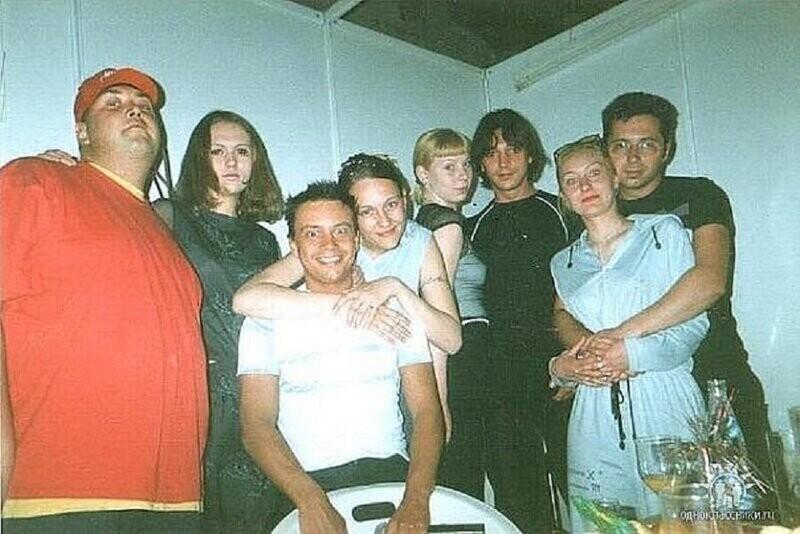Группа Дискотека Авария с поклонницами, 90-е