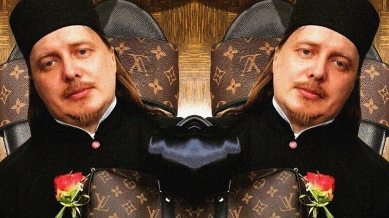 Батюшка «от Gucci» похвастался обновками