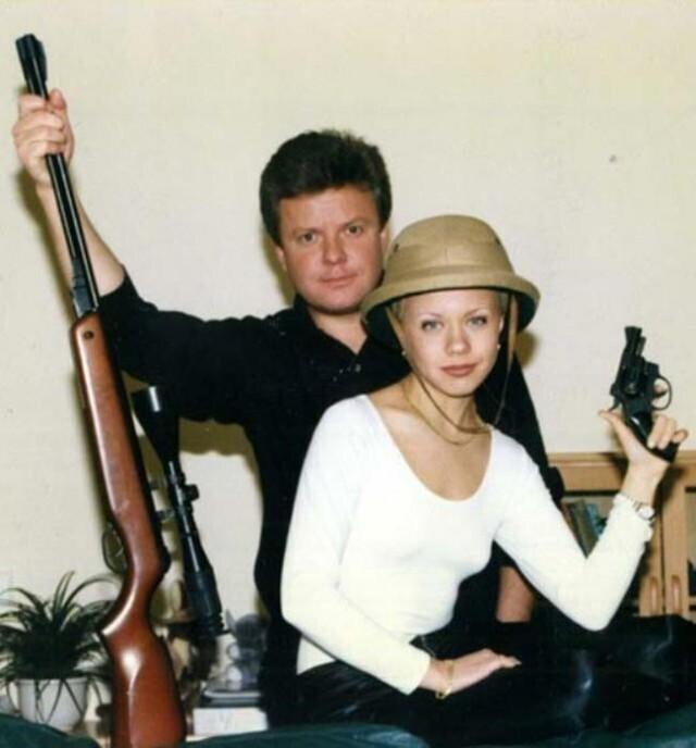Сергей Супонев с сестрой Еленой Перовой