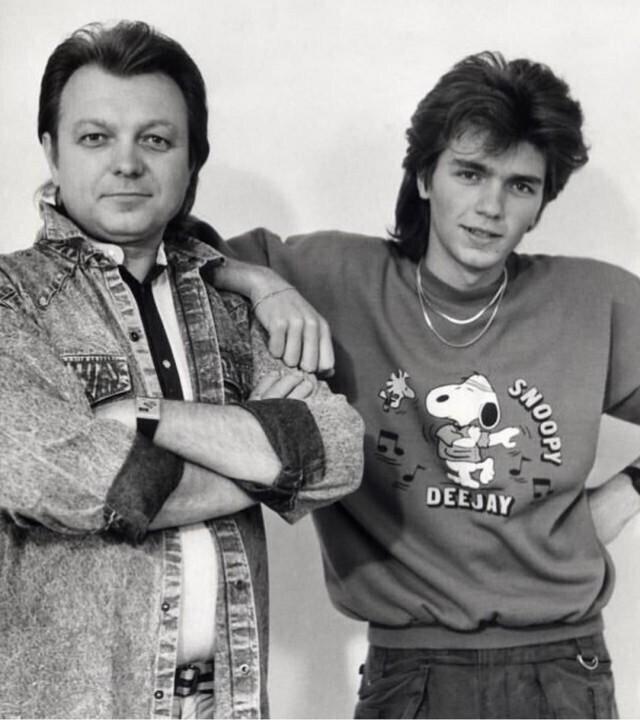 Дмитрий Маликов с отцом