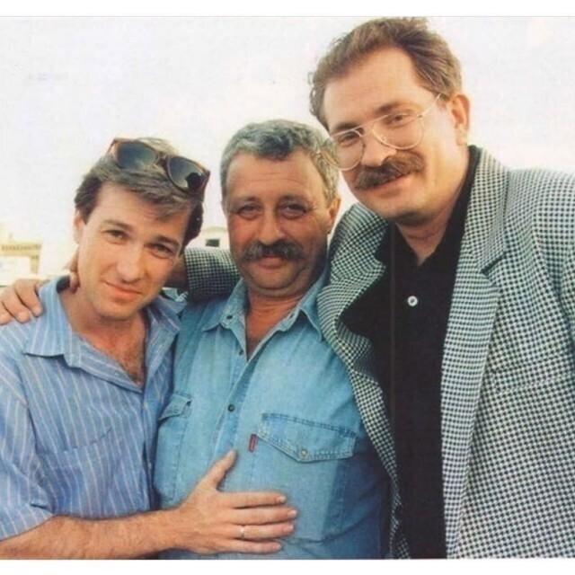 Владислав Флярковский, Леонид Якубович, Владислав Листьев