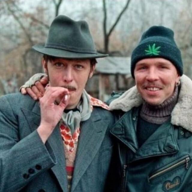 Михаил Ефремов и Гарик Сукачев, 1996