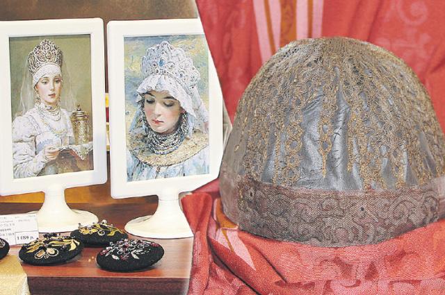 Наша история: волосник -  головной убор XVI века