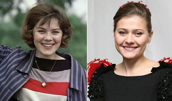 Одна кровь: отечественные знаменитости и их дочери в одном возрасте