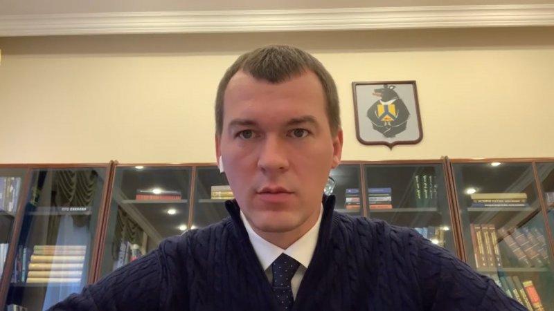 Врио главы Хабаровского края показал, какие вещи он хранит в своем новом кабинете