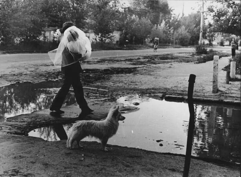 Текстильщики, 1970 год. Авторы: Нина Свиридова, Дмитрий Воздвиженский
