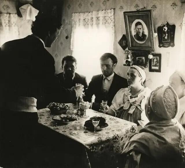 Северная свадьба, 1970-е. Автор фото: Олег Полещук