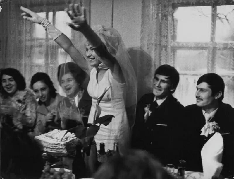 Свадьба, 1970-е. Автор фото: Всеволод Тарасевич