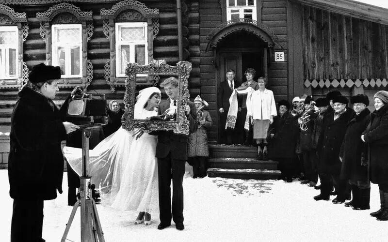 """""""Для внуков"""". Свадьба в Вязниках, 1986 год. Автор фото: Владимир Лагранж"""