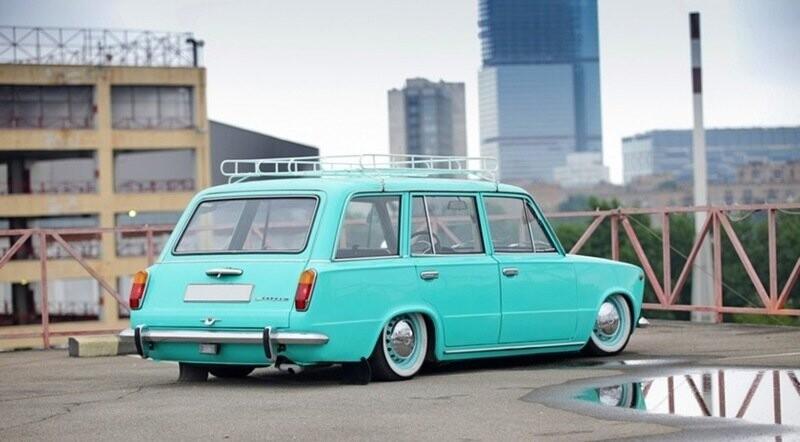 Советские автомобили, которые трудно узнать после тюнинга