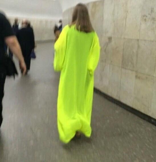 Отчаянные модники питерской подземки
