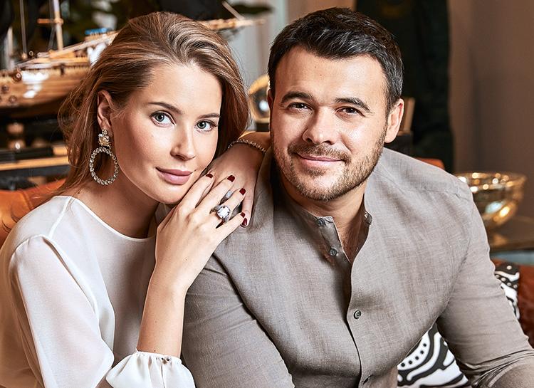 Эмин Агаларов и Алена Гаврилова