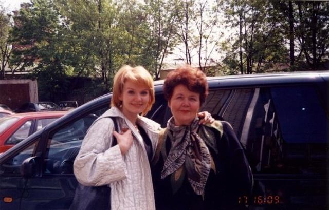 Валерия с мамой