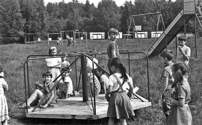 Ностальгия: советское детство в фотографиях