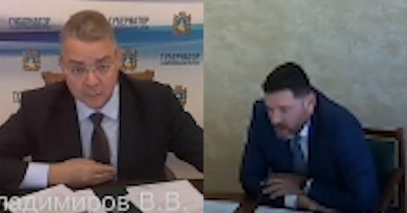 Снова скандал: губернатор Ставрополья жестко отчитал мэра Кисловодска