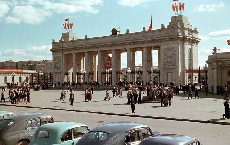 Парк Горького, 1950 год