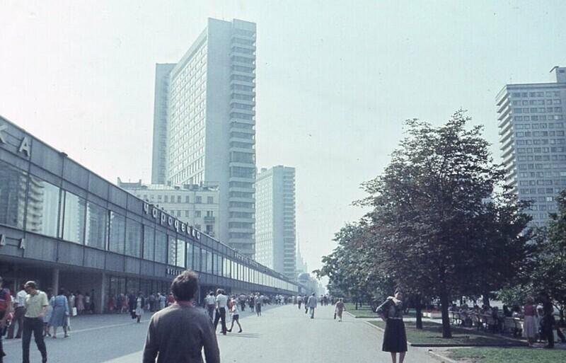Проспект Калинина (Новый Арбат), 1985 года