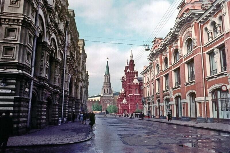 Никольская улица, 1973 год