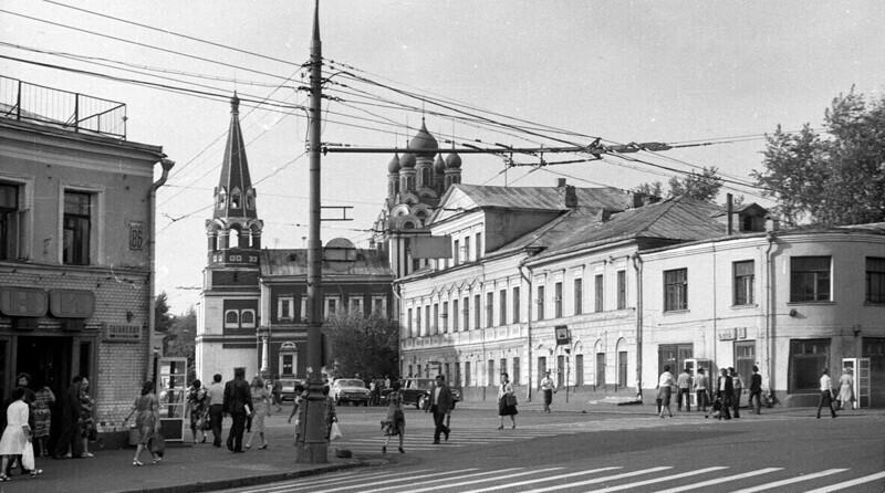 Таганская площадь, 1983 года