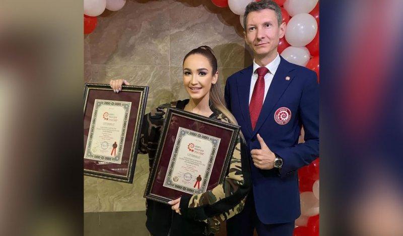 Ольгу Бузову включили в Книгу рекордов России