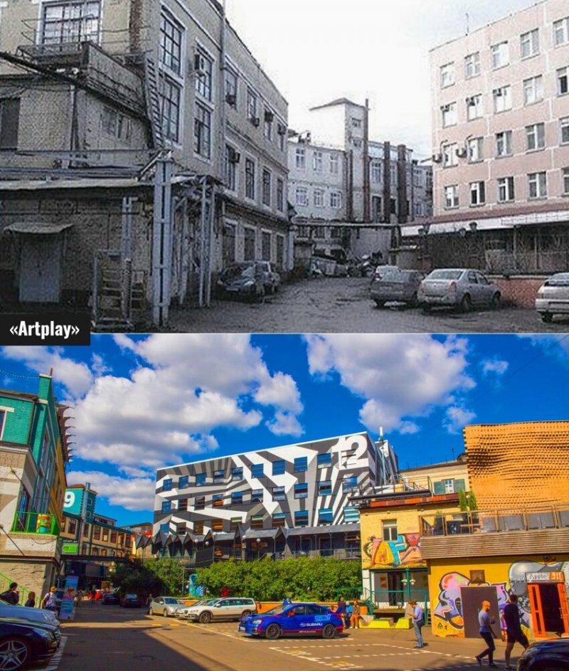 Новое - хорошо забытое старое: промзоны Москвы, превратившиеся в арт-пространства