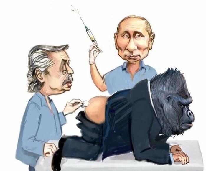 Забавные мемы о вакцине Sputnik V и не только