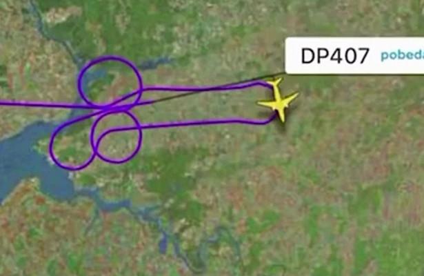 """Российские пилоты """"нарисовали"""" в небе форму фаллоса"""