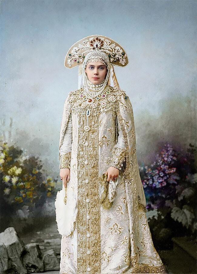 Великая княгиня Ксения Александровна, сестра императора