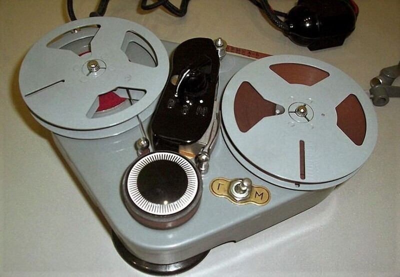 Легендарные ламповые магнитофоны-граммофоны из СССР