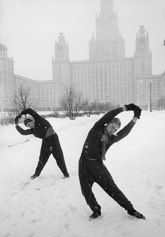 Советская зима в ностальгических снимках