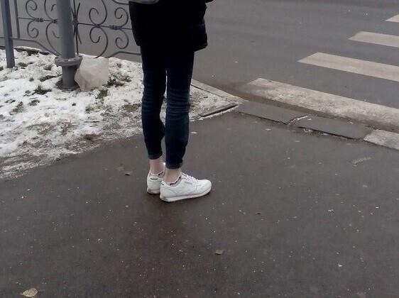 Мода диктует: голые ноги – невзирая на мороз